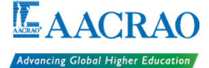 AACRAO - American Association of Collegiate Registrars and Admissions Officers Logo