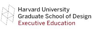 Harvard-Graduate School of Design-Executive Educat Logo