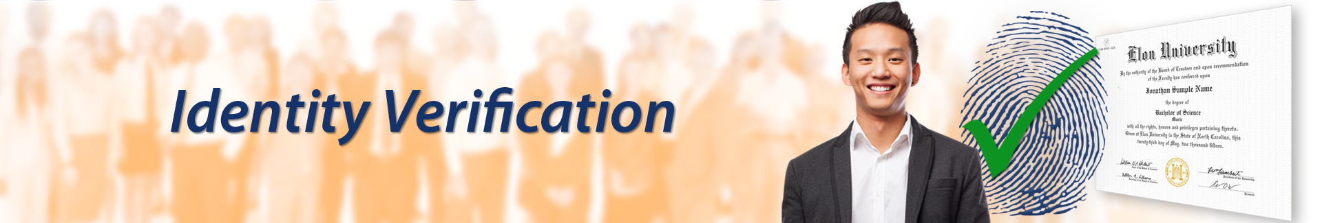 Solutions - Identity Verification logo banner