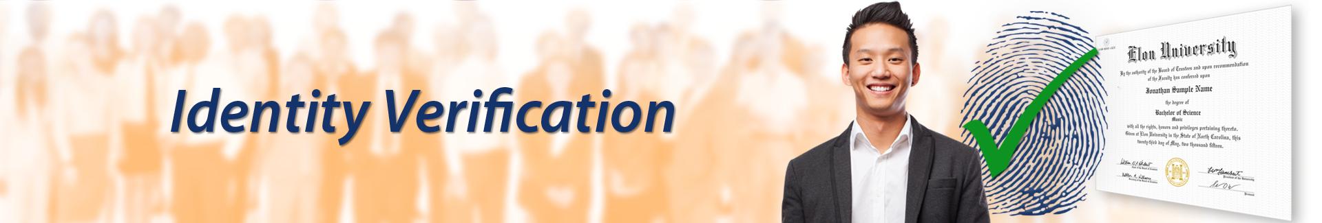 Solutions - Identity Verification logo background